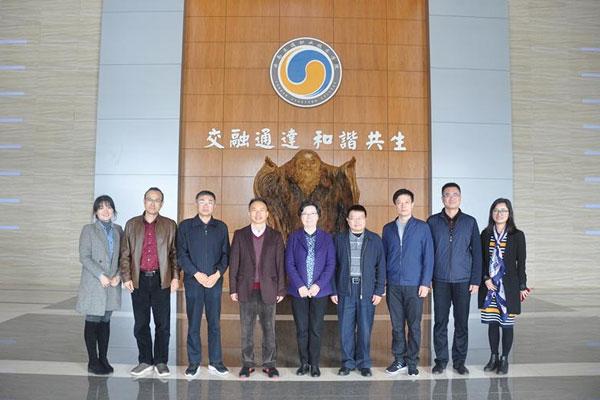 云南教育国际交流协会到云南交通职业技术学院考察调研